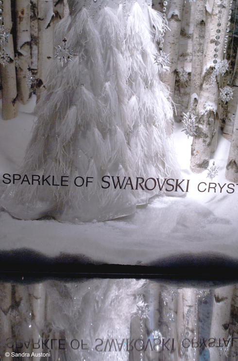 The sparkle of Swarovski crystals (Lord & Taylor - NYC)
