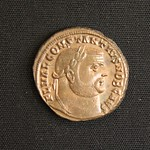 "<b>375 Obverse</b><br/> <a href=""http://en.wikipedia.org/wiki/Constantius_II"" rel=""nofollow""><u><b>Constantius II</b></u></a> <i>Reign: AD337 - 361</i> Constantius II was the middle son of Constantine the Great, born after Constantine II and before Constans. From 340 - 350, he ruled the eastern third of the empire while his brother Constans ruled the rest. After Constans death in 350, and until his own death in 361, Constantius II ruled the entire empire by himself. Like the rest of his family, Constantius was a Christian emperor and tried to promote his faith at the expense of Roman polytheism.  Donated by Dr. Orlando ""Pip"" Qualley<a href=""http://farm3.static.flickr.com/2774/4351359233_f064328a33_o.jpg"" title=""High res"">∝</a>"