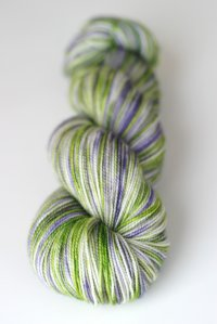 'mountain lupine' on Aspen Sock