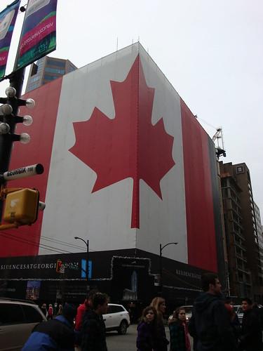 Giant Canada Flag