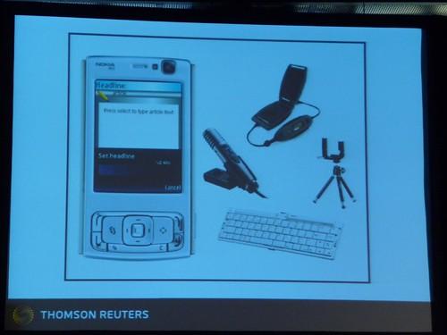 Experimental digital journalist kit