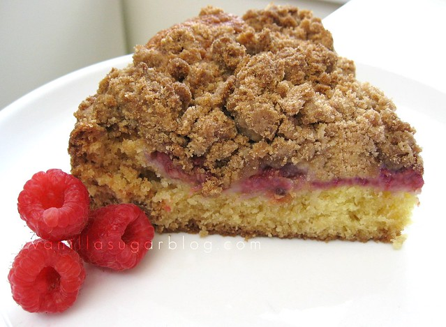 vanilla sugar blog: raspberry buttermilk crumb cake w ...