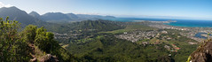 View from the top of Olomana Photo