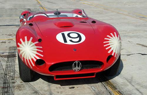Fangio's Winning Maserati 450S - Sebring 57 (by Nigel Smuckatelli)