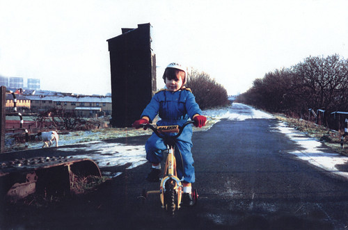 Ryan Murphy, Cyclepath, Whiteinch, 1980s.