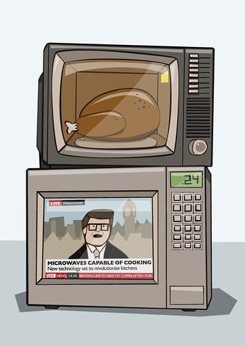 100310 - Televised Microwave Chicken Roast