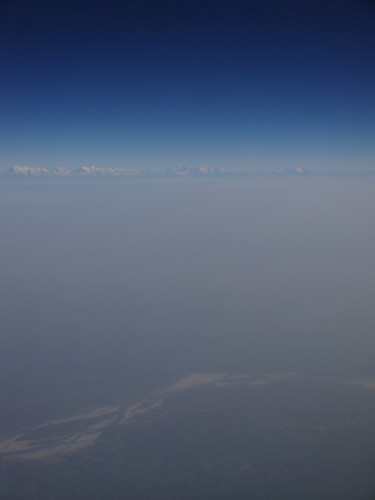 Over India