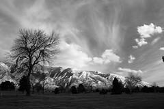 Big Skies in Utah (Mike Olbinski Photography) Tags: trees snow mountains clouds utah saltlakecity
