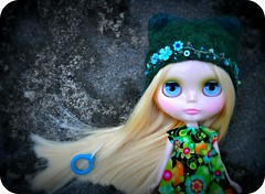 Long and Straight (Lawdeda ) Tags: from by trash dress you tea euro helmet thank um blythe punky tarts rbl blythster issachan88 umerica