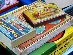 Chelsea Flea Market: vintage kid games