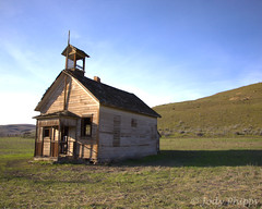1904 (RU4SUN2) Tags: school abandoned field oregon rustic schoolhouse 1904 oneroomschool historicschool eightmile eightmileschool