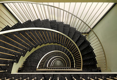 Spirit of 1972 (Halsemann.) Tags: world light berlin art architecture modern germany deutschland design licht stair floor interior space innenarchitektur hauptstadt haus architectural clean treppe explore future architektur sauber interiordecoration archtecture flur halsemann ralfwendrich