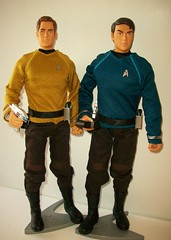 Space  Buddies !!! (napudollworld) Tags: sexy trek star twilight action jacob barbie guys figure kirk mccoy