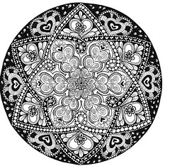where-the-heart-is (JSP Create) Tags: mandala zentangle zendala