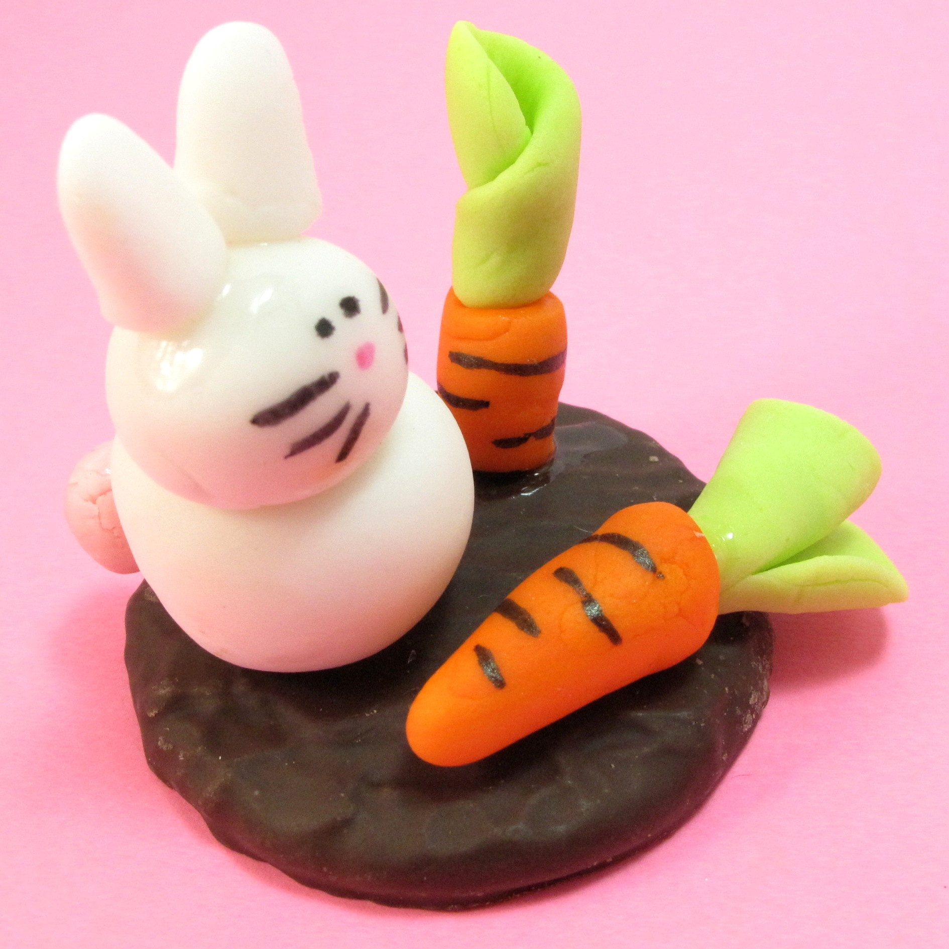 bunny and carrot toppers