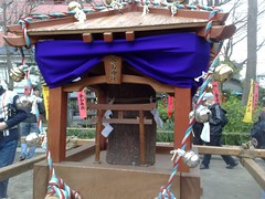 The Kanamara mikoshi