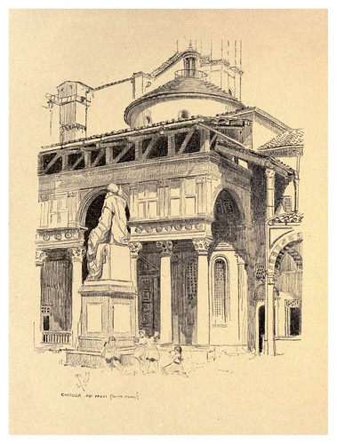 014- Capilla del Pazzi-Florence  a sketch book (1914)- Richards Fred