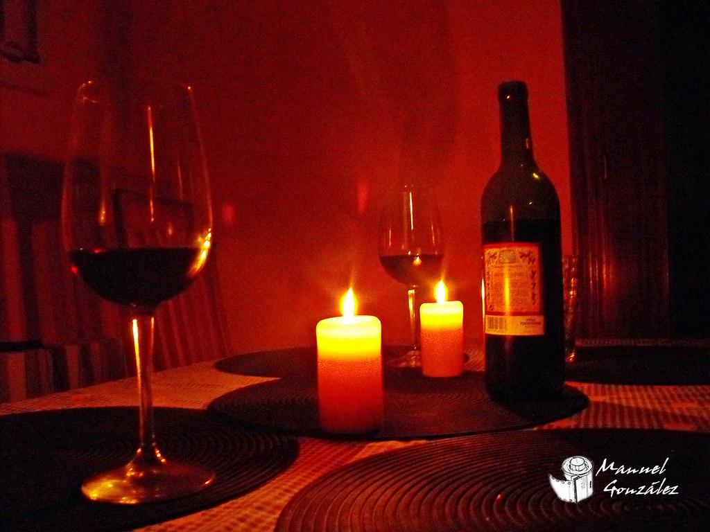 The world 39 s best photos of velas and vino flickr hive mind - Cena romantica con velas ...
