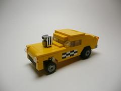 '55 Bel Air Taxi Gasser.