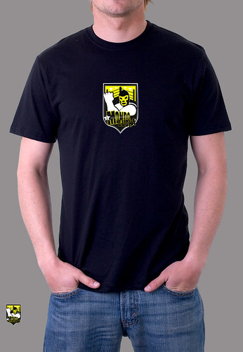 MONDO LUCHA! Logo T-Shirt : Mens, Black