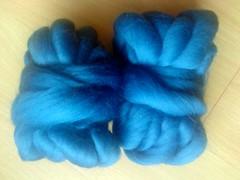 Kammzug Uni-blau,Wolllust