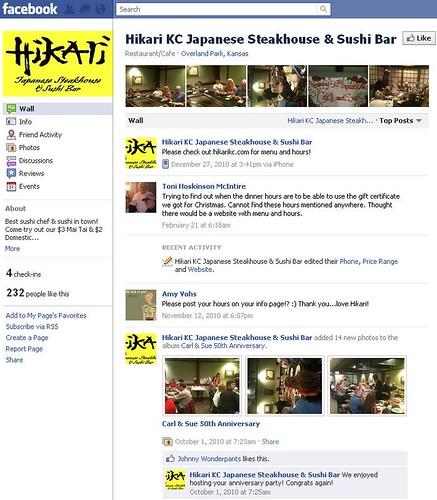Other Hikari Facebook