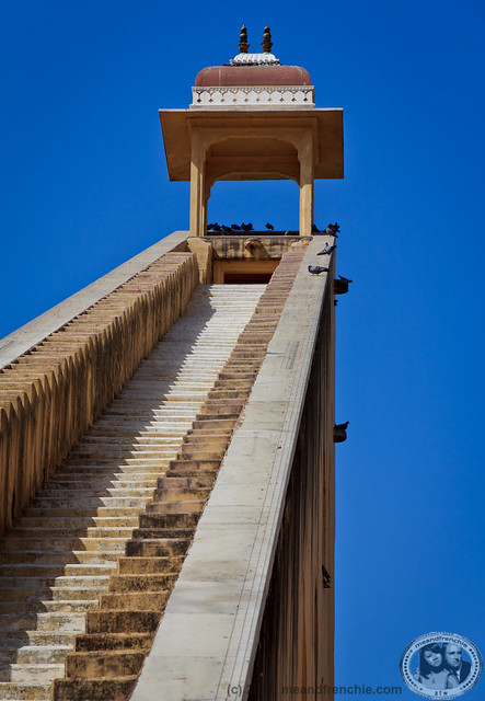 Stairwell @ Jantar Mantar