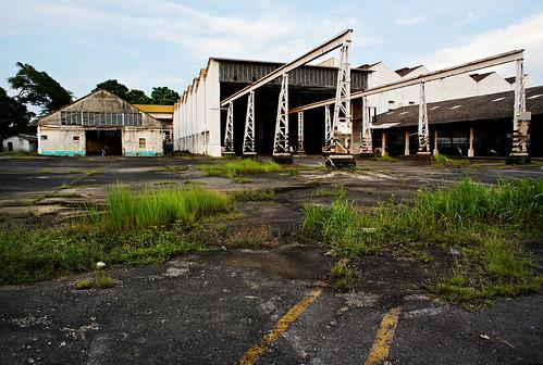 Hangar exterior, Old Kallang Airport