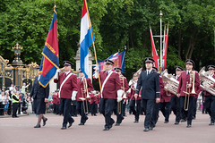 ISB120 2011 028 (Howard.) Tags: red london hats flags parade shirts trombones 2011 staffband isb120