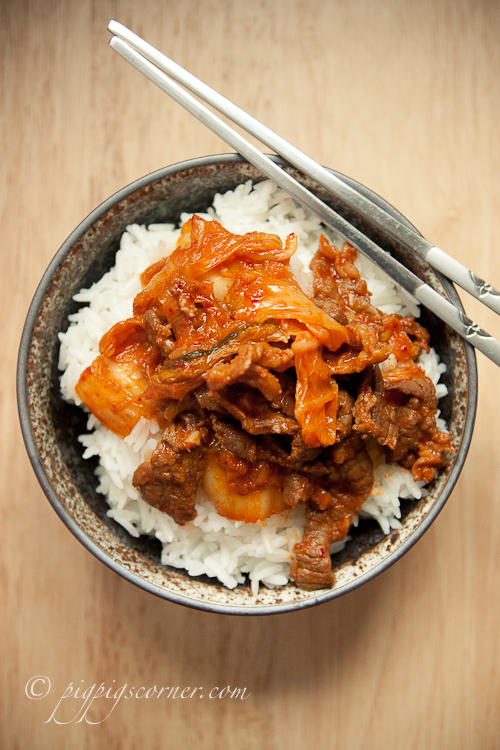 Beef and Kimchi Stir-fry