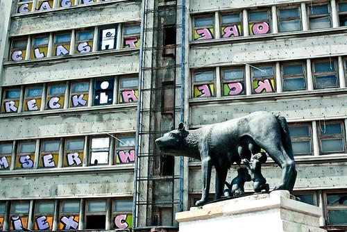 Bukarest: Romulus ja Remus