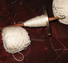 plying silk
