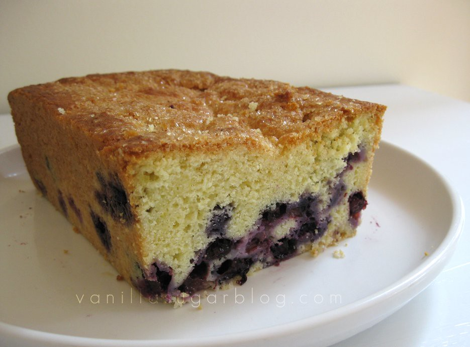 blueberry-creme fraiche loaf