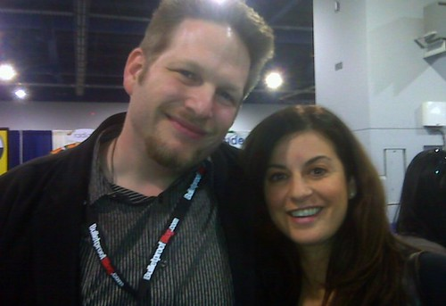 @chrisbrogan with @leyla_a Blogworld