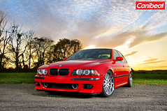 PT's E39 M5 (david.tormey) Tags: sunset red fall dave studio nikon october pennsylvania racing pa pt alienbee pcb 19 tormey 2009 softbox m5 cargraphics vagabond imola d300 tylerstatepark e39 jrx ab800 radiopopper blowneuros blowneuroscom