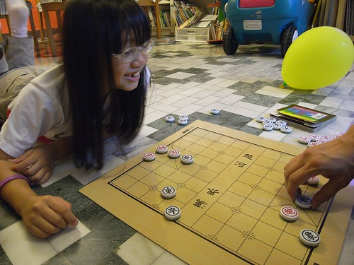 katharine娃娃 拍攝的 4下棋。
