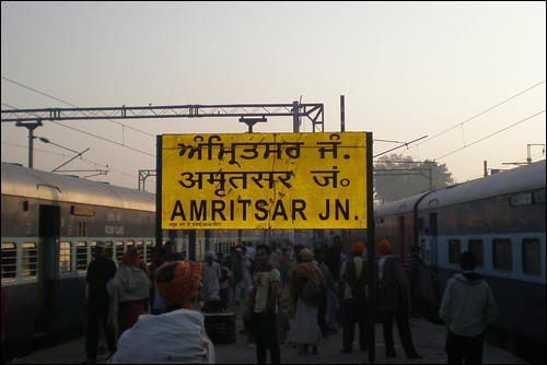 Morning Arrival in Amritsar