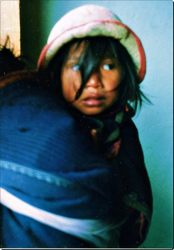 Indigena Guambiana Silvia departamento Cauca Colombia