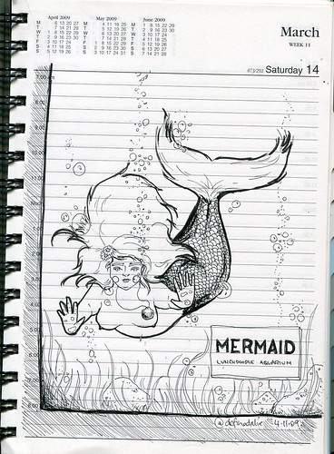 Lunchdoodle 18 - Under the sea