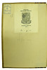 Bookseller's label in Decembrius, Petrus Candidus: De genitura hominis