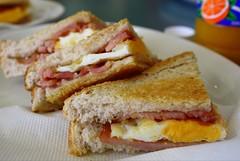 Breakfast @ Hay Street (stardex) Tags: food breakfast canon bread bacon toast egg australia sandwich perth stardex