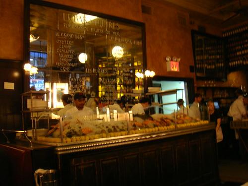 Bar de ostras y otros productos del mar