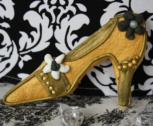 Gold Shoe cookie