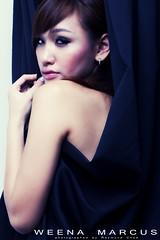 Weena Secret (RaymondChua) Tags: lighting portrait sexy girl studio asian 50mm model chinese wardrobe weenamarcus