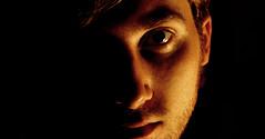 the brightest side (valeriodimauro) Tags: portrait me face side autoritratto ritratto luce viso brightest autoscatto scuro chiaro penombra