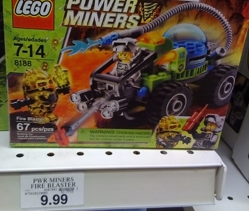 LEGO 2010 Sets Spotted at Toys R Us - Power Miners 8188 Fire Blaster