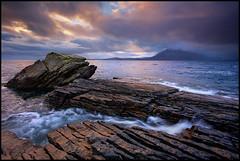 Elgol (ianflindt1) Tags: sunset skye port coast scotland na cuillin elgol cullaidh