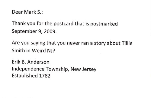 dear mark s. - sep. 21, 2009