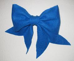 felt bow I made