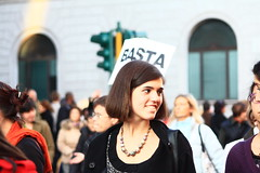 IMG_5850 ([iskra]) Tags: woman roma action revolution donne strike basta manifestazione 28novembre giornatamondialecontrolaviolenzamaschilesulledonne